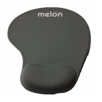 Melon แผ่นรองเม้าส์พร้อมเจลรองข้อมือ Mouse Pad with Gel Wrist Support (Gray)