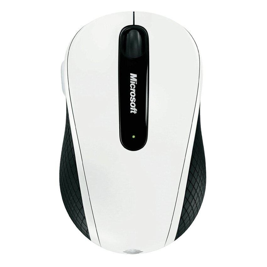 Microsoft Wireless Mobile Mouse 4000 USB BlueTrack (White)