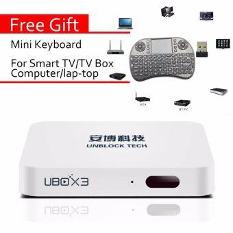 Mini keyboard+ Unblock Android 5.1 smart TV Box Gen 3 bluetooth S900 PRO 16G with 1000+free channel - intl