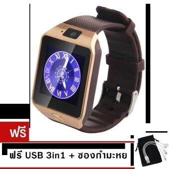 ประเทศไทย MiniSo นาฬิกาโทรศัพท์Smart Watchรุ่นA9 Phone Watch (Gold)ฟรี ซองกันรอย+สาย 3in 1