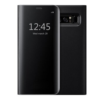 Mooncase Case for Samsung Galaxy Note 8 Ultra Thin Flip Specular Mirror Protective Cover Case with Smart Sleep - intl