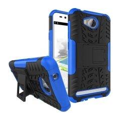 เช็คราคา moonmini for huawei y3ii / huawei y3 2 hybrid combo body armor high impact shockproof case defender with kickstand (blue) - intl ราคา 199 บาท(-36%) ...