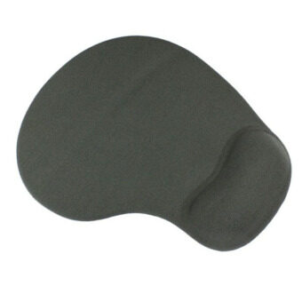 Mouse Pad With Gel Wrist Support Grey
