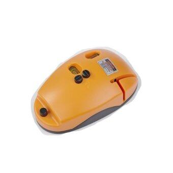 Mouse Type Laser level LV09 Horizon Vertical Line Tool ,Yellow