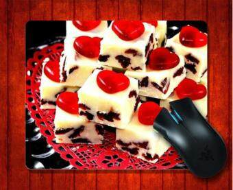 MousePad White Chocolate Photography for Mouse mat 240*200*3mm Gaming Mice Pad - intl