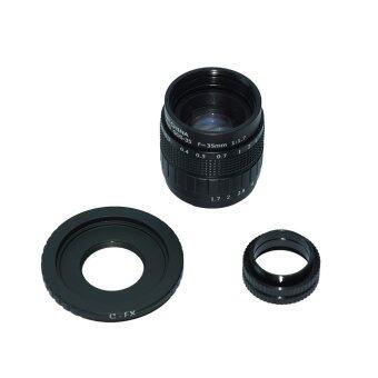 MP power อะแดปเตอร์ & ฝาครอบเลนส์ สำหรับ Fujifilm X-T1-X M1 T10 X-X-X-Pro1 X E1 X-A1-A2