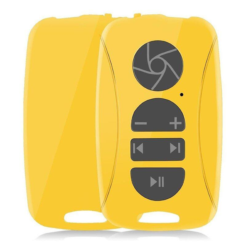 Multimedia Remote Control Bluetooth for Cell Phone Yellow ...