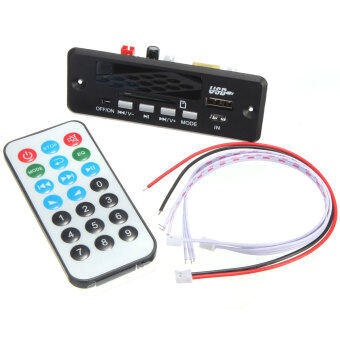 New 7~12V Car Handsfree Bluetooth MP3 Decode Board w/Bluetooth Module+FM - Intl - Intl