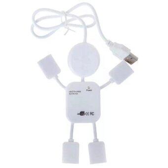 new Mini PC humanoid usb hub 2.0 High Speed 4 port usb charger - INTL