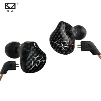New Original KZ ZST 3.5mm In Ear Earphones 1DD With 1BA HybridEarphone HIFI Auriculares Running Sport Earphones Monitor EarbudsWithout Mic - intl