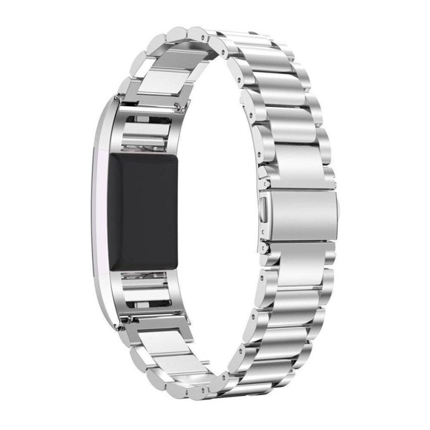 niceEshop Fashion Sports Genuine Stainless Steel Watch Band Strap Bracelet For Fitbit Ch ...