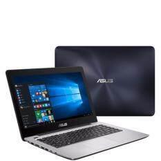 """โน็ตบุ๊ค Notebook Asus K456UQ-FA097-Dark Blue(i5-7200U,4Gb,1Tb,GT930MX-2Gb,14"""") มีโปรแกรมพร้อมใช้งาน"""