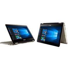 """โน็ตบุ๊ค Notebook Asus TP301UA-DW058T-Icice Gold/Transformer Book Flip(i3-6100U,4Gb,500Gb,Win10,13.3"""")ลงโปรแกรมพร้อมใช้งาน"""