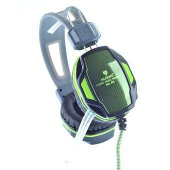 ประเทศไทย NUBWO Headset A6 (Black/Green)