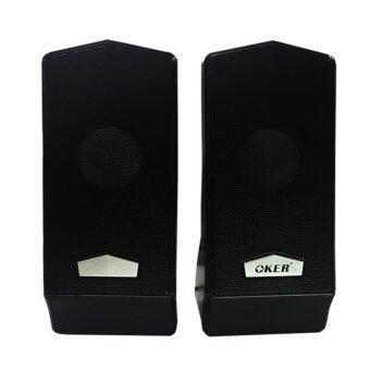 OKER ลำโพงคอมพิวเตอร์ โน๊ตบุ๊ค Speakers รุ่น M6 (Black)