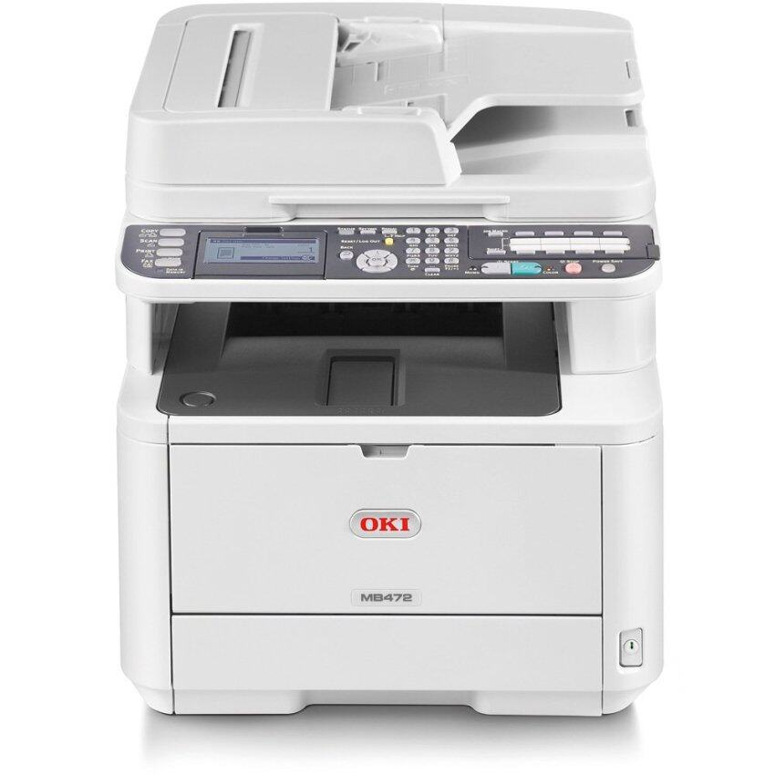 OKI MB472dnw Multifunction Mono Laser Printer