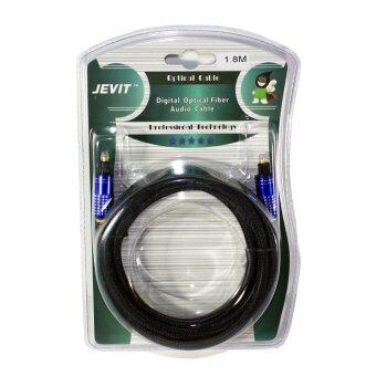 สาย Optical Audio Jevit - Digital Optical Fiber Audio Cable สายถัก ความยาว 1.8 เมตร