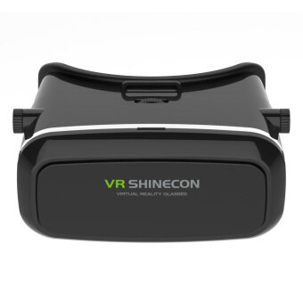 Original SHINECON Virtual Reality Headset 3D VR Glasses Adjustable Focal Pupil Distance for 3.5~6.0inch Android or Apple Smartphones 3D Videos Movies Games (Intl) - intl