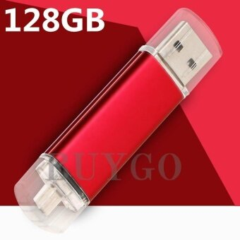 Otg Dual Usb Micro Usb3.0 128GB Flash Pen Thumb Drive Memory StickFlash Drive - intl