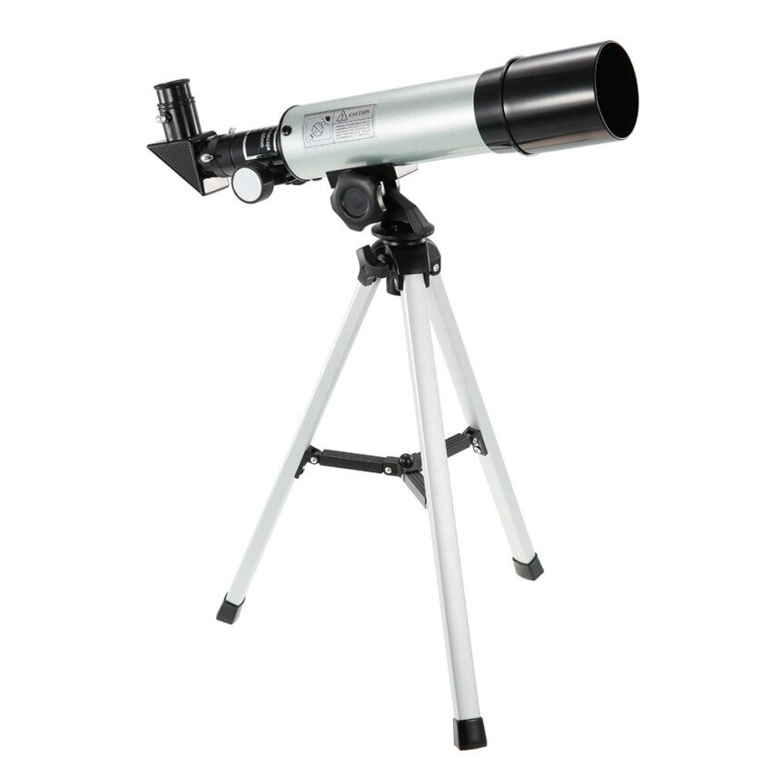 Outdoor HD 90X Zoom Telescope 360x50mm Refractive Space Astronomical Telescope Monocular Travel Spotting Scope with Tripod - intl