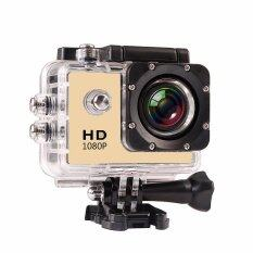 Outdoor Sport Mini Camera 1080p Full Hd Dv Sport Action Camera Bike Helmet Video Cam 30m Go Waterproof Pro Case Retail Box - Intl ราคา 540 บาท(-53%)