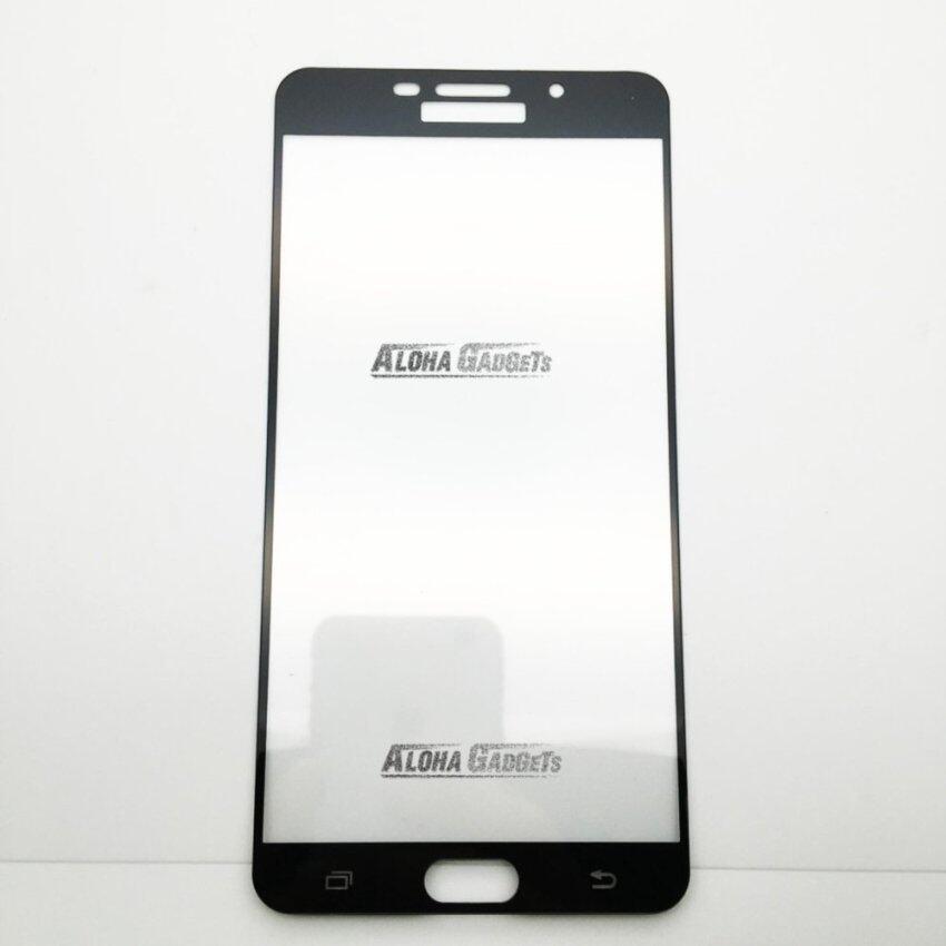 P-One ฟิล์มกระจกนิรภัยเต็มหน้าจอ Samsung Galaxy A9 pro (สีดำ เต็มหน้าจอ) ...