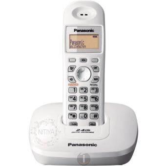 PANASONIC โทรศัพท์ไร้สาย Caller ID สีเงิน รุ่น KX-TG3611BX.S