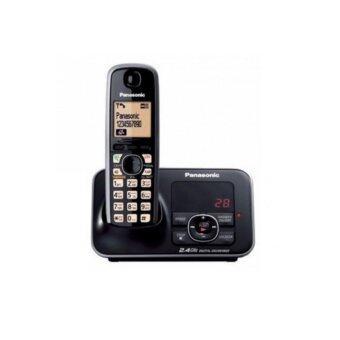Panasonic โทรศัพท์ไร้สาย รุ่น KX-TG3721BXB (Black)