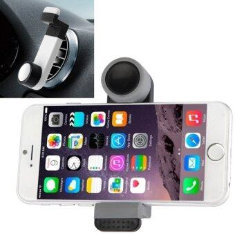 Portable Air Vent Car Mount Holder for iPhone 6 and 6 Plus / iPhone 5 and 5S (Black/Grey) - INTL