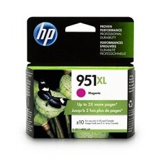 (Price Hidden)HP 951XL Magenta High Yield Original Ink Cartridge (CN047AN) - intl image