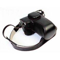 Protective Compact Leather Case With Shoulder Strapforolympusom-De-M5 Em5ii Em-5 Mark Ii Digital Camera With16-50mmosslens(b - Intl ราคา 1,860 บาท(-29%)