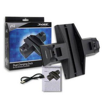 ซื้อ/ขาย แท่นวาง ฐานวาง ที่ชาร์ท PS4 Dual Charger Station Charging Stand Dock for PS4 Wireless Controller