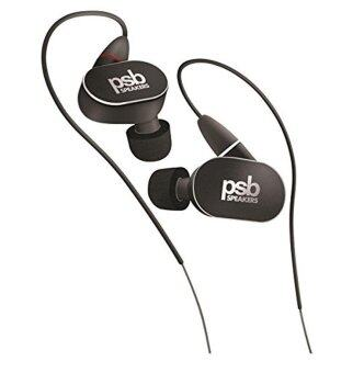 PSB M4U 4 High Definition In-Ear Monitors (Headphones) Black Diamond - intl