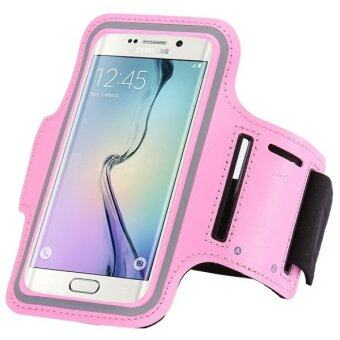 PU Leather Phone Case for Samsung Galaxy S6 Edge G9250 (Pink) (Intl)