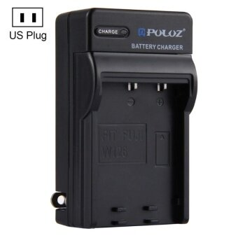 PULUZ US Plug Battery Charger For Fujifilm NP-W126 Battery - intl