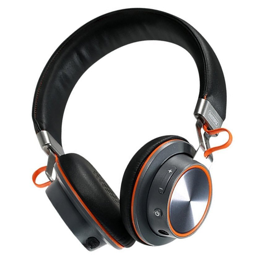Remax หูฟัง Bluetooth Headphone SuperBass Hi-Fi Headphone 195HB (Black)