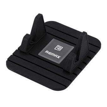 Remax แท่นวางโทรศัพท์แบบยางกันลื่น Stand Fairy Phone Holder (Black)