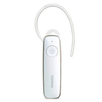 ประเทศไทย Remax T8 Bluetooth Headset V4.1 Dual Connect (White)