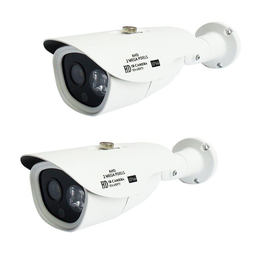 REVOTECH-RT-2518HDI 4in1 กล้องวงจรปิด Bullet Camera 2.0Megapix Full HD 1080P (แพ็คคู่ 2 กล้อง )