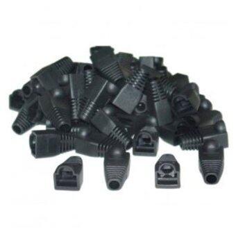 RJ45 Strain Relief Boots (50 Pcs Per Bag) Black