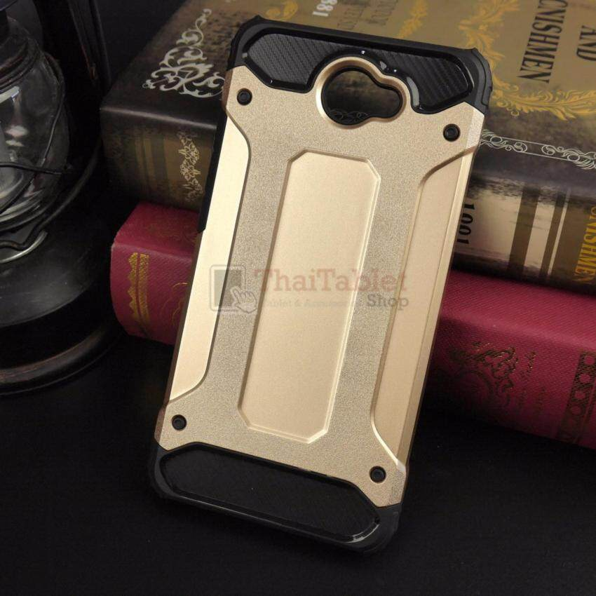 Rugged Hybrid Dual Layer Armor Case Cover For Hauwei Y7 2017