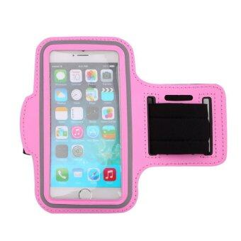Running Jogging Sport Gym Armband Reflective Case Cover For iPhone iPhone 6 Pink