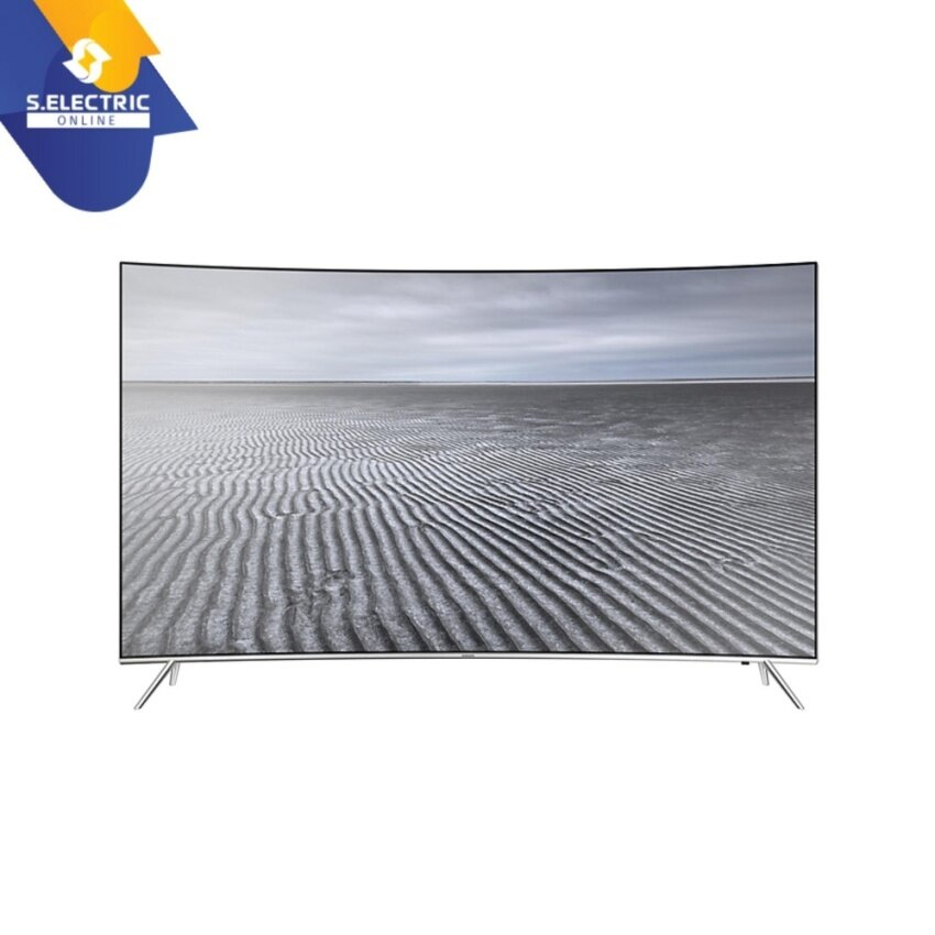 Samsung 55 SUHD 4K Curved Smart TV KS7500 Series 7 (Silver)