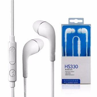 Samsung หูฟัง ใช้สำหรับ Samsung Galaxy S3 S4 (สีขาว)