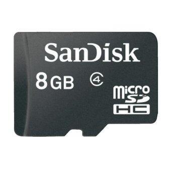 Sandisk micro sd card 8GB Class 4 - Black