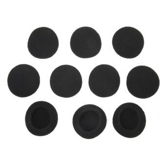 แผ่นรองเปลี่ยนหูสำหรับ Sennheiser หูฟัง 5 คู่สีดำ