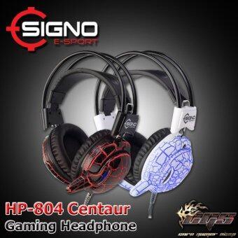 SIGNO E-Sport หูฟังเกมส์มิ่ง Centaur 7 LED รุ่น HP-804