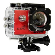 Sj Cam กล้อง แอ็คชั่น ไวไฟ รุ่น Sj-4000 (สีแดง) ราคา 2,990 บาท(-13%)