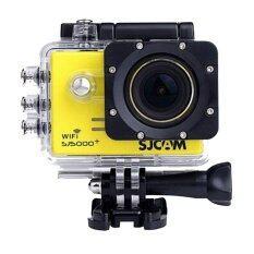 Sjcam Sj5000 Wifi Plus + Camrecorder - Yellow ราคา 5,500 บาท(-30%)