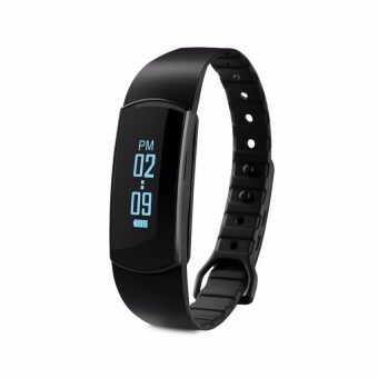 Smart Heart Rate Monitor Wristband Bracelet (Black) - intl